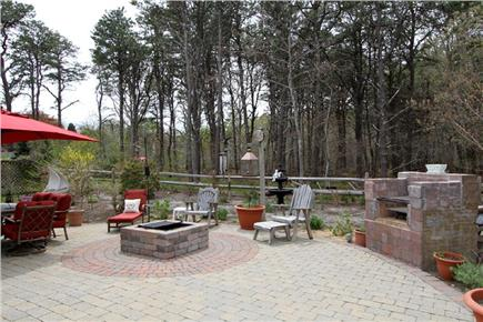 Harwich Cape Cod vacation rental - Outdoor living space overlooking conservation land