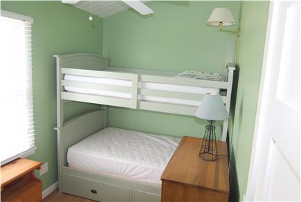 Truro Cape Cod vacation rental - Bedroom 3 - Bunk Beds Full Size