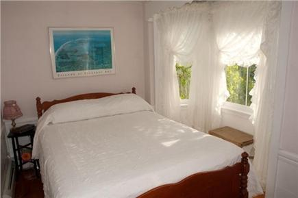 Chatham Cape Cod vacation rental - Bedroom with queen-sized bed and sunny bay window