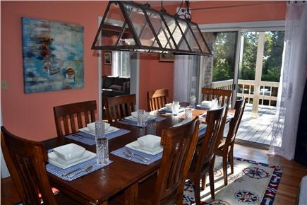Chatham Cape Cod vacation rental - Dining room seats 8, with room for more