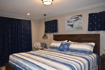Chatham Cape Cod vacation rental - Lower level Master King size bedroom. With 40 inch HDTV, Phone