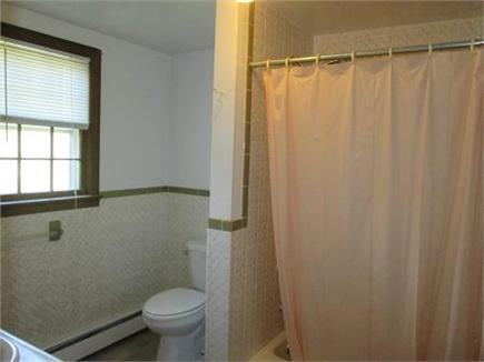 Wellfleet Cape Cod vacation rental - Upstairs Bath with Tub