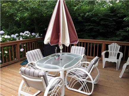 North Chatham Cape Cod vacation rental - Deck - from Kitchen