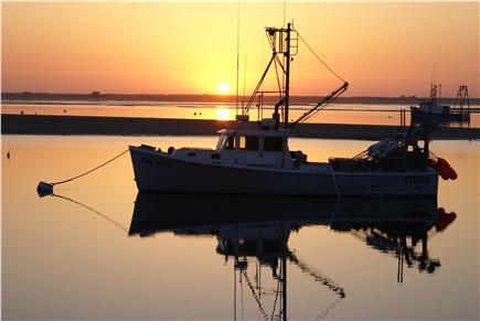 North Chatham Cape Cod vacation rental - Chatham Fish Pier at Sunrise