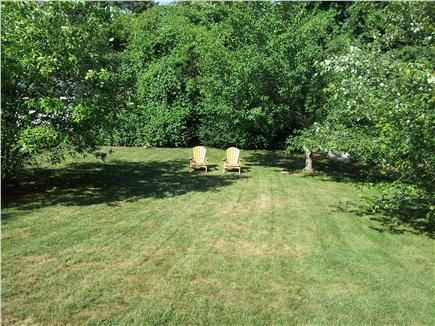 North Chatham Cape Cod vacation rental - Back Yard