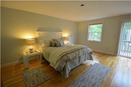 Barnstable Village Cape Cod vacation rental - Master suite with luxurious bath, walk-in closet & private deck