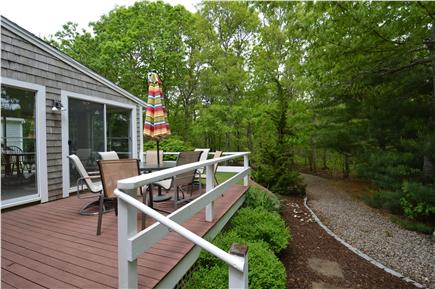 Barnstable Village Cape Cod vacation rental - Deck overlooking private yard