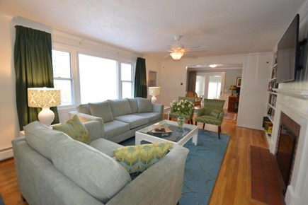 Barnstable Village Cape Cod vacation rental - Spacious & bright living room
