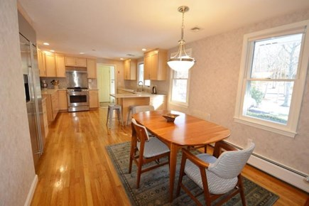 Barnstable Village Cape Cod vacation rental - Upscale eat-in kitchen/dining area