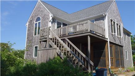 South Wellfleet Cape Cod vacation rental - The House overlooking Loagy Bay