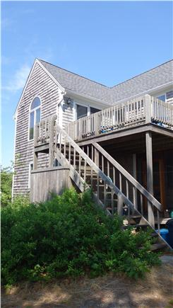 South Wellfleet Cape Cod vacation rental - Outside staircase to the second floor