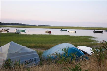 Eastham Cape Cod vacation rental - Boats at Hemingway Landing