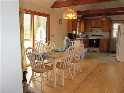 Eastham Cape Cod vacation rental - Dining and kitchen