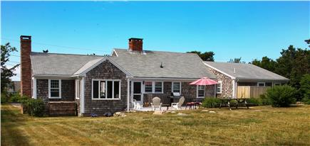 East Dennis Cape Cod vacation rental - Large Deck, big flat back yard, outdoor shower