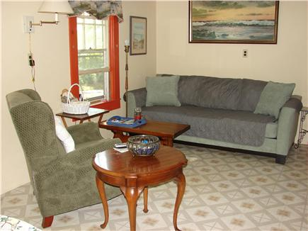 Eastham Cape Cod vacation rental - Living room area with basic TV with DVD & VHS players