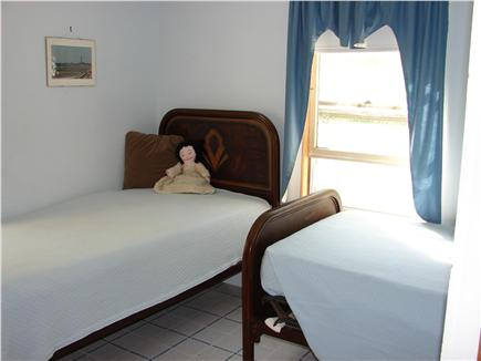 Eastham Cape Cod vacation rental - Bedroom with 2 twin beds & bureau