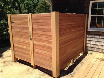 Eastham Cape Cod vacation rental - Large Outdoor Shower