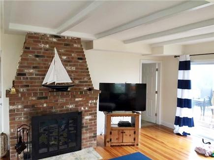 West Yarmouth Cape Cod vacation rental - Fireplace - TV/BlueRay - 1/2 Bath - Laundry - Slider to Deck