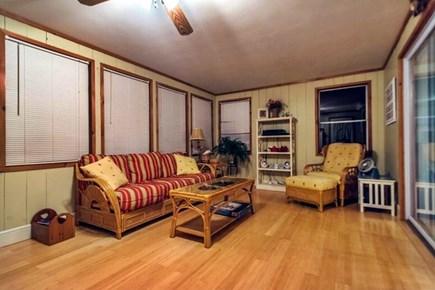 Pocasset, Bourne Pocasset vacation rental - Spacious sunroom opens to the deck