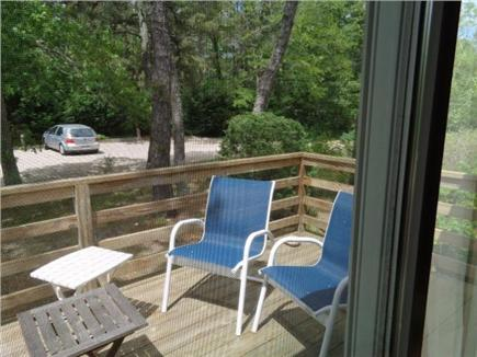 Wellfleet Cape Cod vacation rental - View over deck