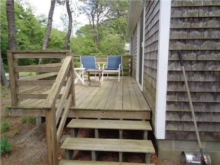 Wellfleet Cape Cod vacation rental - Relax on the Deck