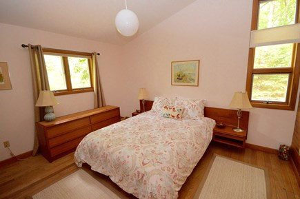 Orleans Cape Cod vacation rental - Master bedroom on main floor with queen bed