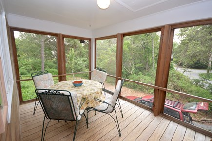 Orleans Cape Cod vacation rental - Screened-in porch - outdoor seating without the bugs