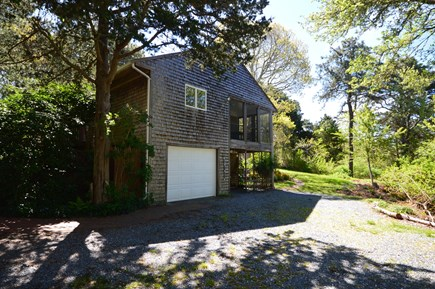 Orleans Cape Cod vacation rental - Large driveway with space for 3+ cars and side view of the home