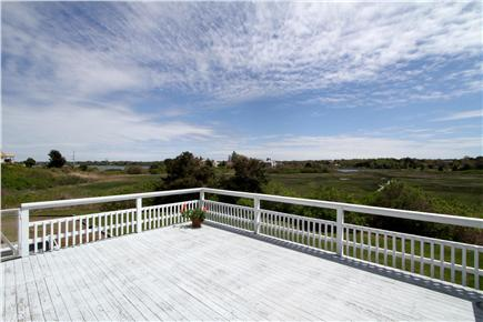 Chatham Cape Cod vacation rental - Expansive back deck with panoramic views of Oyster River