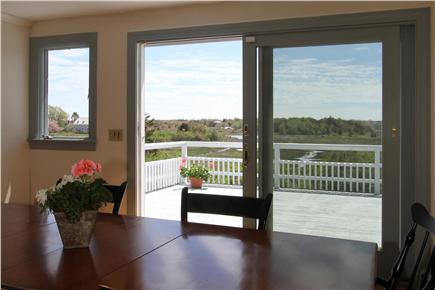 Chatham Cape Cod vacation rental - Dining area with views