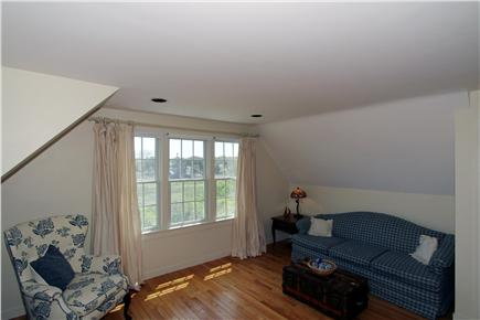 Chatham Cape Cod vacation rental - Seating area in master bedroom capturing panoramic views