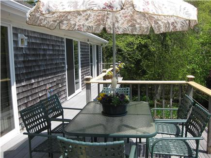 Centerville Centerville vacation rental - Outside deck overlooking the lake
