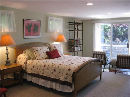 Centerville Centerville vacation rental - Master Suite with queen bed and sliders to the back deck