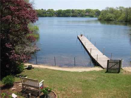 Centerville Centerville vacation rental - View of lake and dock from back deck