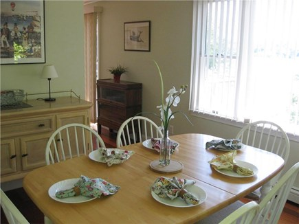 Centerville Centerville vacation rental - Dining area with seating for six and views of the lake