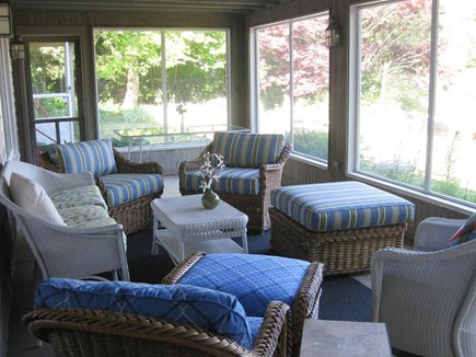 Centerville Centerville vacation rental - Screened porch with dining for 6 and lovely view of the lake