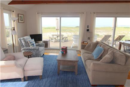 North Truro, Beach Point Cape Cod vacation rental - Living Room Area