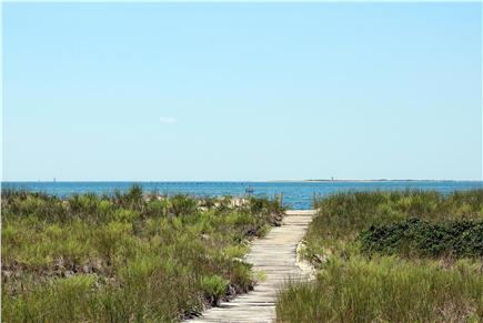 North Truro, Beach Point Cape Cod vacation rental - Boardwalk To Beach