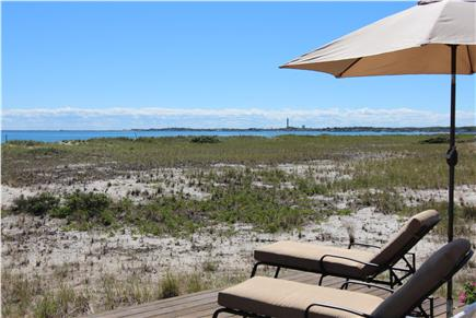 North Truro, Beach Point Cape Cod vacation rental - Relax on the Deck With Panoramic View