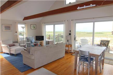 North Truro, Beach Point Cape Cod vacation rental - Open Living Area