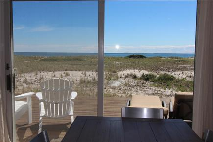 North Truro, Beach Point Cape Cod vacation rental - View From Dining Table
