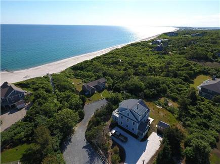 East Sandwich Cape Cod vacation rental - Aerial View of the Home