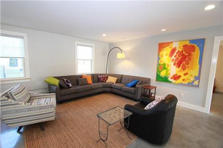 East Sandwich Cape Cod vacation rental - First Floor Living Room