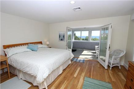 East Sandwich Cape Cod vacation rental - 2nd Floor King Bedroom w/ Screen in Porch