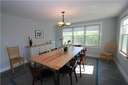 East Sandwich Cape Cod vacation rental - Dining Area for 8