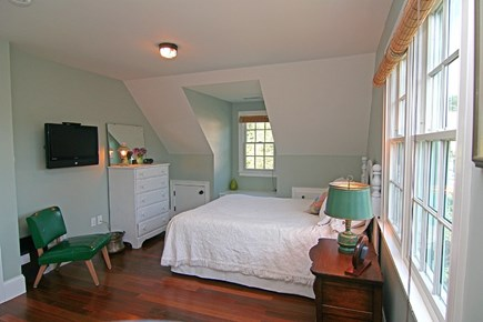 Barnstable Village Cape Cod vacation rental - Upstairs Bedroom #1 - baby crib on the side of room if needed