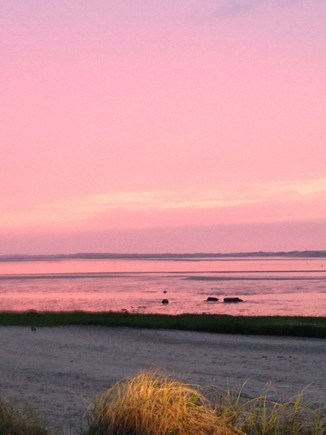 Barnstable Village Cape Cod vacation rental - WOW.  Almost an every day sunset view - gotta love the Cape!