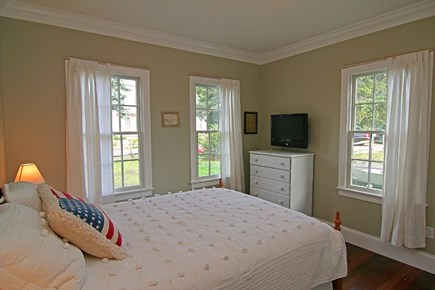 Barnstable Village Cape Cod vacation rental - Downstairs Bedroom with Queen bed.