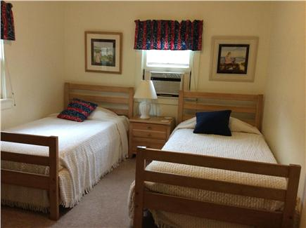New Seabury, Rock Landing Cape Cod vacation rental - Two twin beds in 3rd bedroom, window A/C, TV and DVD player