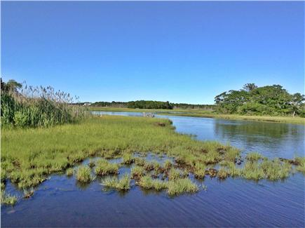 Dennis Port Cape Cod vacation rental - A view from the dock area...